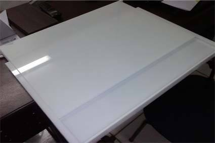 Mesa de trabalho adaptado para cadeirante