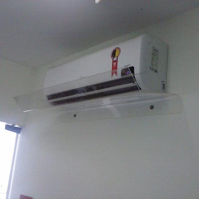 Defletor de ar condicionado split