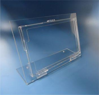 Display para tablet com tampa