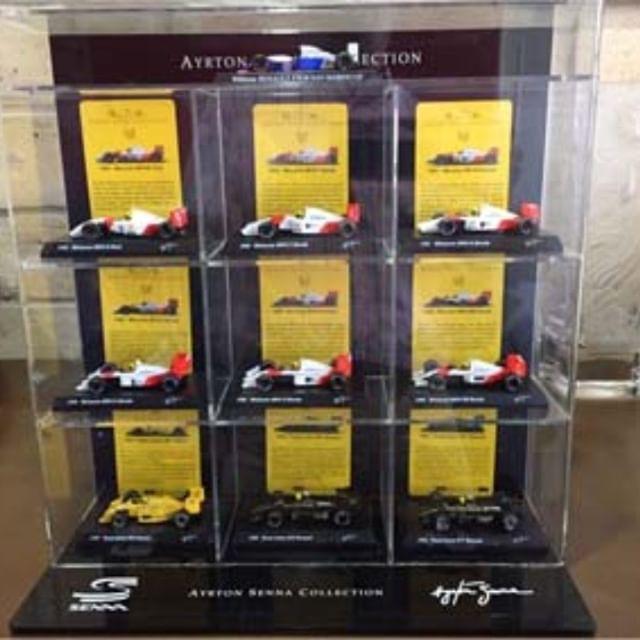 Display para miniatura Senna!!