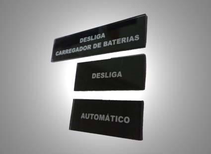 Plaqueta de identificação
